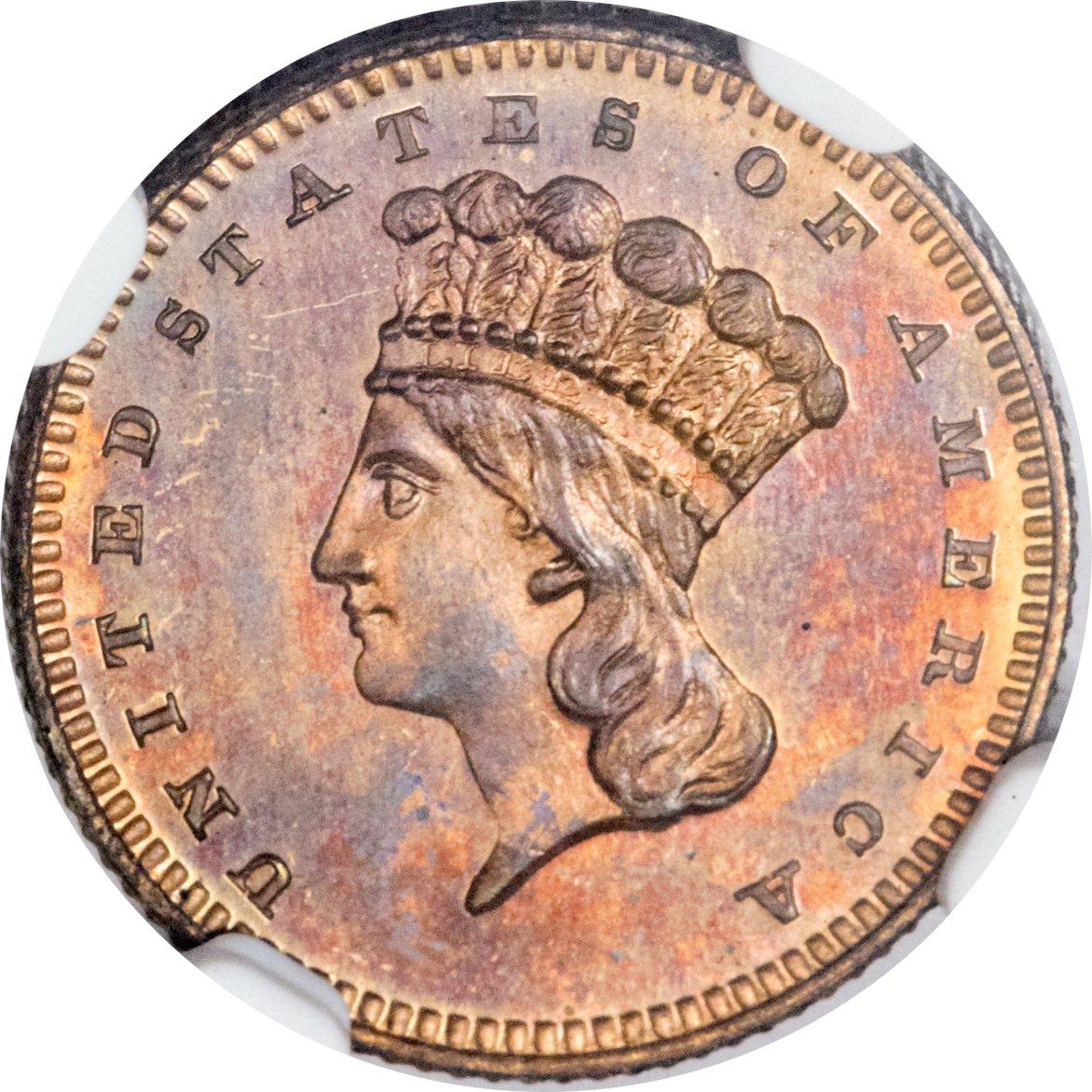 sample image for 1870 G$1 (J-1023) PR RB