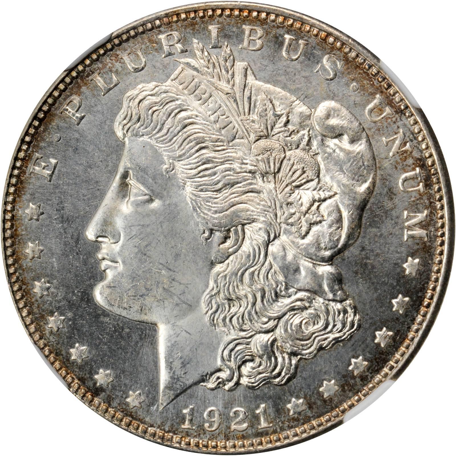 sample image for 1921-D $1  MS DMPL