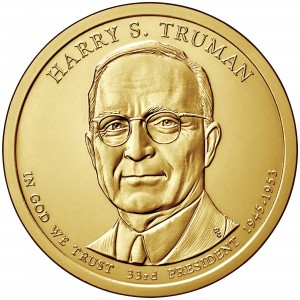sample image for 2015-P Harry Truman $1  MS Position A