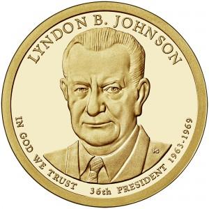 sample image for 2015-S Lyndon B. Johnson $1  PR DCAM