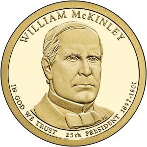 sample image for 2013-S William McKinley $1  PR DCAM