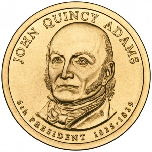 sample image for 2008-P John Q. Adams $1  MS Position A
