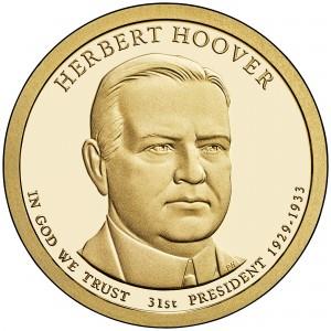 sample image for 2014-S Herbert Hoover $1  PR DCAM