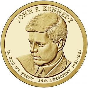 sample image for 2015-S John F. Kennedy $1  PR DCAM