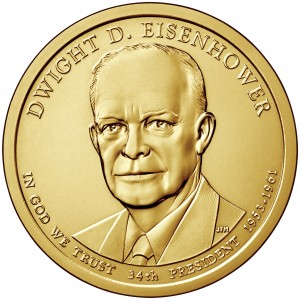 sample image for 2015-P Dwight D. Eisenhower $1  MS Position A