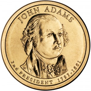 sample image for 2007-P John Adams $1  MS Position A