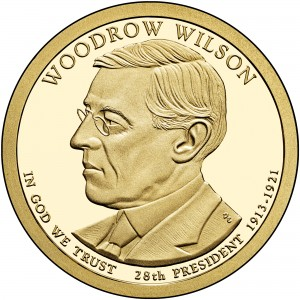 sample image for 2013-S Woodrow Wilson $1  PR DCAM