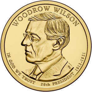 sample image for 2013-P Woodrow Wilson $1  MS Position A