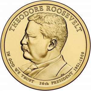 sample image for 2013-P Theodore Roosevelt $1  MS Position A