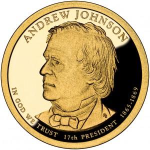sample image for 2011-S Andrew Johnson $1  PR DCAM