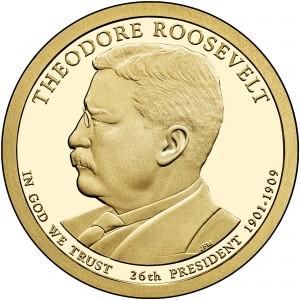 sample image for 2013-S Theodore Roosevelt $1  PR DCAM