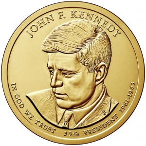 sample image for 2015-P John F. Kennedy $1  MS Position A