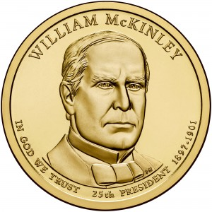 sample image for 2013-P William McKinley $1  MS Position A