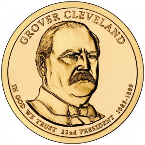 sample image for 2012-P Grover Cleveland 1st Term $1  MS Position A