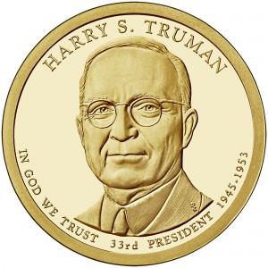 sample image for 2015-S Harry S. Truman $1  PR DCAM