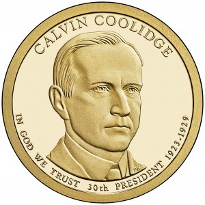 sample image for 2014-S Calvin Coolidge $1  PR DCAM
