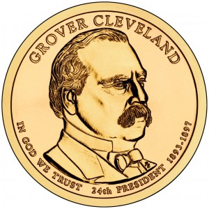 sample image for 2012-P Grover Cleveland 2nd Term $1  MS Position A