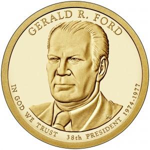 sample image for 2016-S Gerald Ford $1  PR DCAM