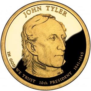 sample image for 2009-S John Tyler $1  PR DCAM