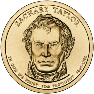 sample image for 2009-P Zachary Taylor $1  MS Position A