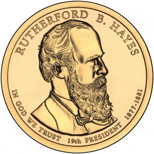 sample image for 2011-P Rutherford B. Hayes $1  MS Position A