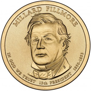 sample image for 2010-P Millard Fillmore $1  MS Position A