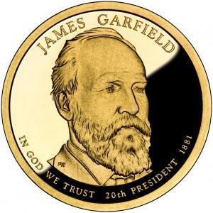 sample image for 2011-S James Garfield $1  PR DCAM