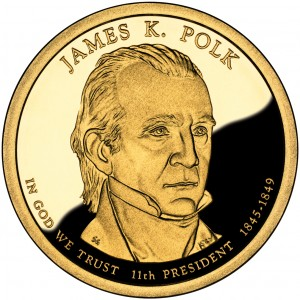 sample image for 2009-S James Polk $1  PR DCAM