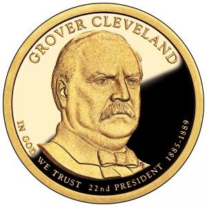 sample image for 2012-S Grover Cleveland 1st Term $1  PR DCAM