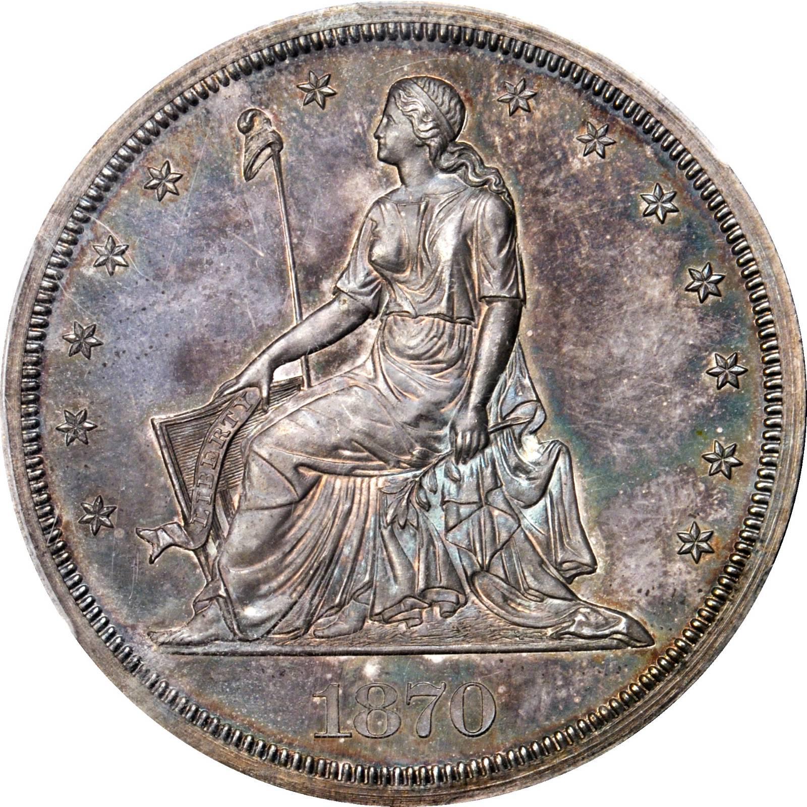sample image for 1870 P$1 (J-1003) PR