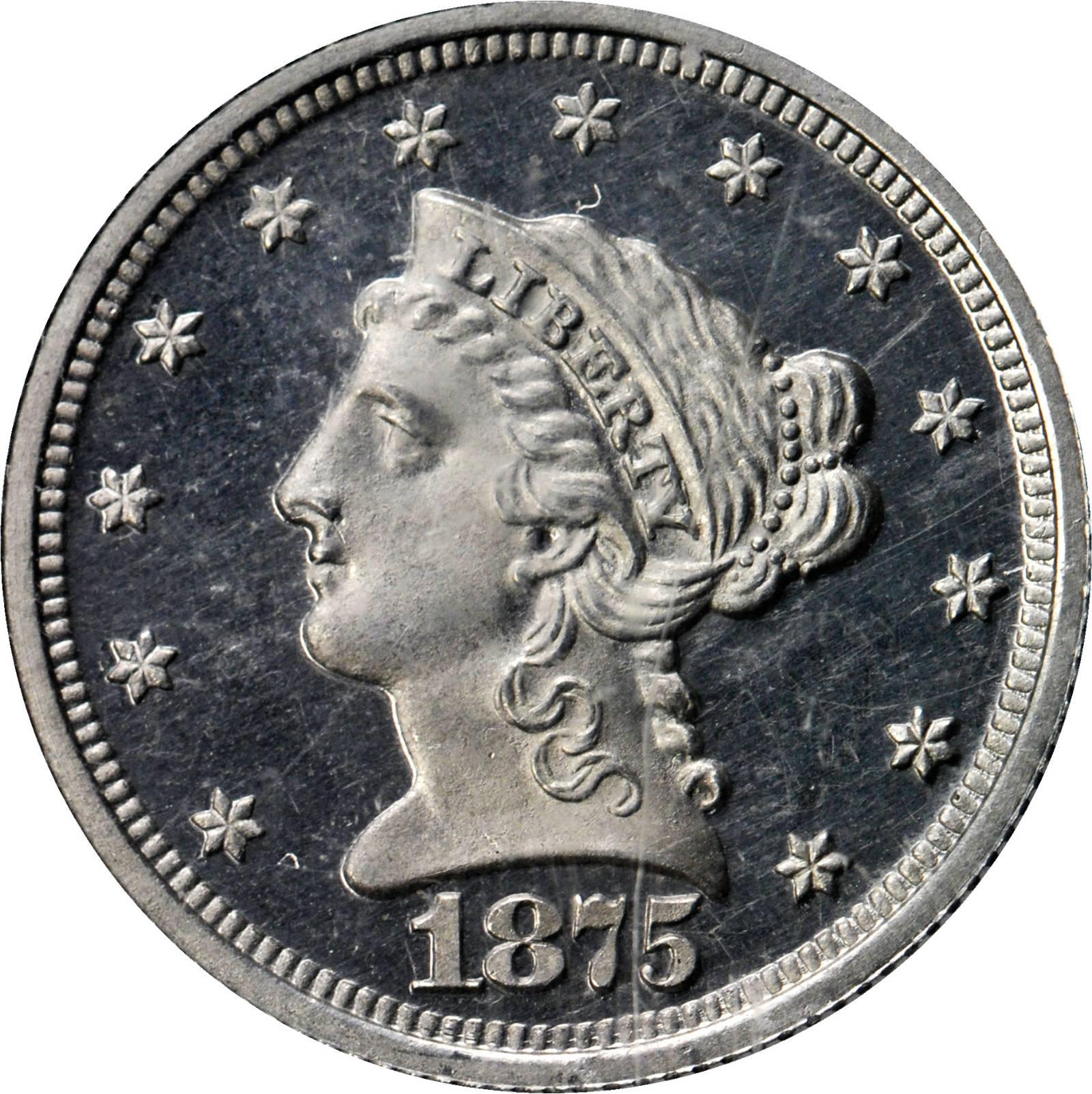 sample image for 1875 P$2.50 (J-1435) PR