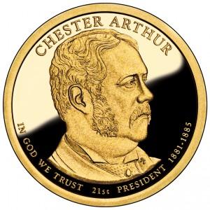 sample image for 2012-S Chester A. Arthur $1  PR DCAM