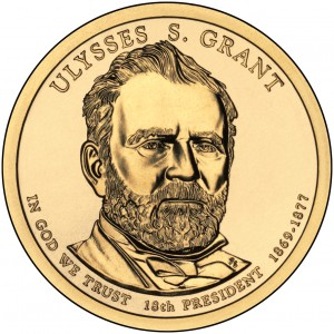 sample image for 2011-P Ulysses S. Grant $1  MS Position A