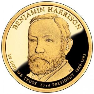sample image for 2012-S Benjamin Harrison $1  PR DCAM