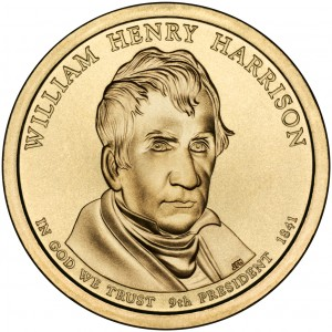 sample image for 2009-P William H. Harrison $1  MS Position A