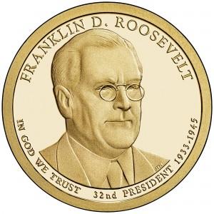 sample image for 2014-S Franklin D. Roosevelt $1  PR DCAM