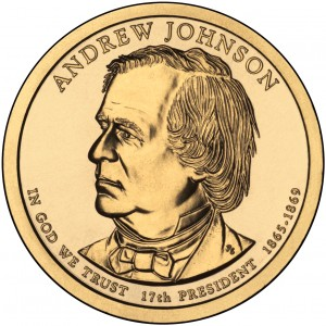 sample image for 2011-P Andrew Johnson $1  MS Position A