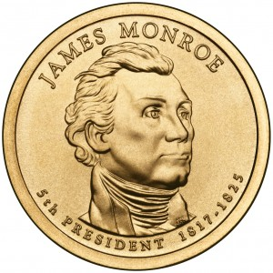 sample image for 2008-P James Monroe $1  MS Position A