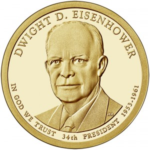 sample image for 2015-S Dwight D. Eisenhower $1  PR DCAM