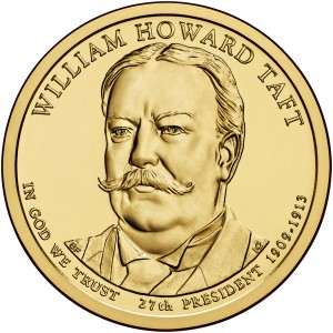 sample image for 2013-P William Howard Taft $1  MS Position A