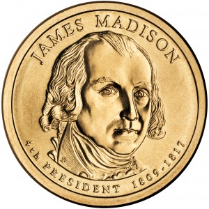 sample image for 2007-P James Madison $1  MS Position A