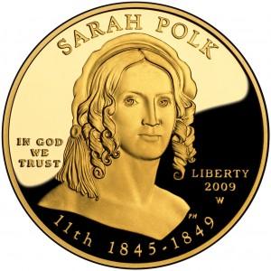 sample image for 2009-W Sarah Polk