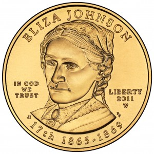 sample image for 2011-W Eliza Johnson $10  MS