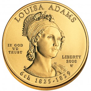 sample image for 2008-W Louisa Adams $10  MS