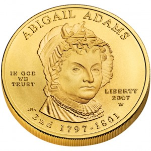 sample image for 2007-W Abigail Adams $10  MS
