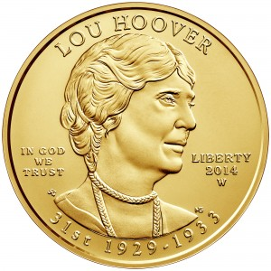 sample image for 2014-W Lou Hoover $10  MS