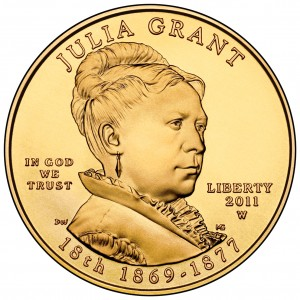 sample image for 2011-W Julia Grant $10  MS