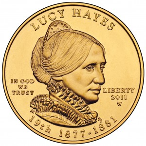 sample image for 2011-W Lucy Hayes $10  MS