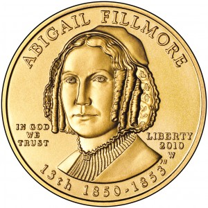 sample image for 2010-W Abigail Fillmore $10  MS