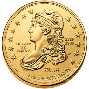 sample image for 2008-W Jacksons Liberty $10  MS